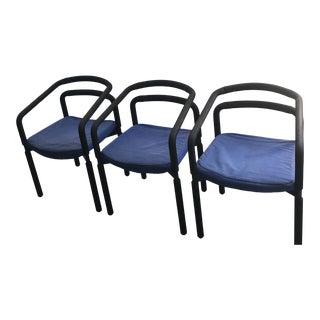 199s Vintage Metropolitan Furniture Chairs- Set of 3 For Sale