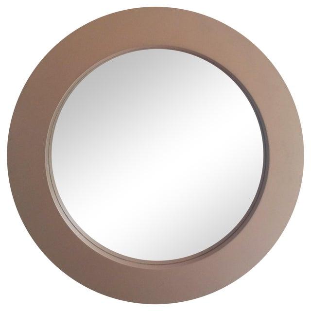 Round Gold Mirror - Image 1 of 3