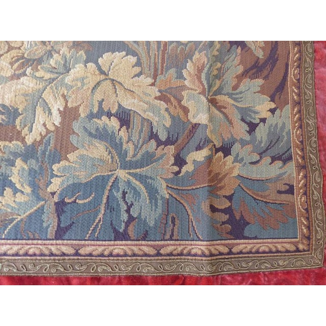 Traditional Tapestry Wall Hanging, circa 1920s from a Historic South Florida Home For Sale - Image 3 of 11