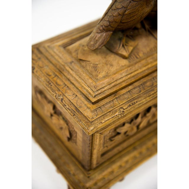 Black Forest Water Bird Jewelry Box - Image 9 of 10