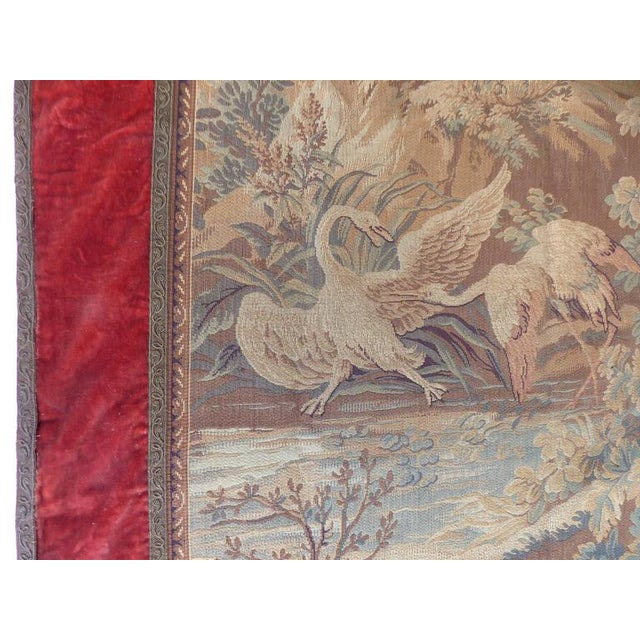 Offered for sale is a machine made tapestry depicting a Dutch Provincial scene beautifully presented with a velvet and...
