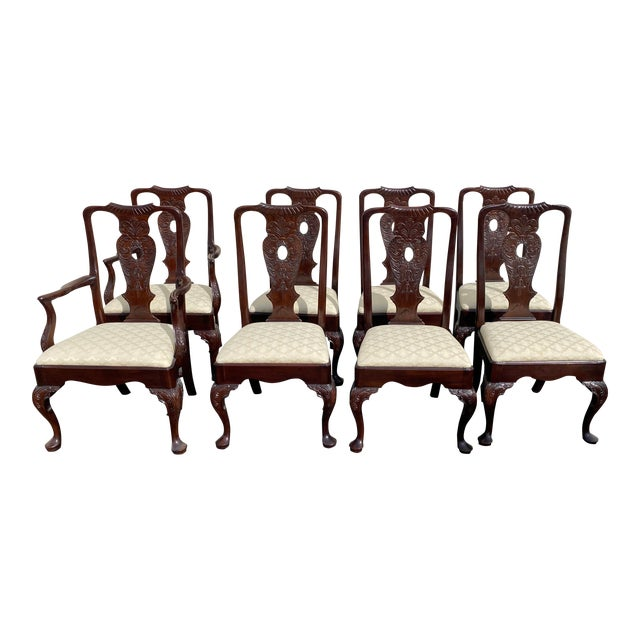 Aston Court by Henredon Chairs - Set of 8 For Sale