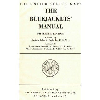 "1959 ""The Bluejackets' Manual"" Collectible Book Preview"