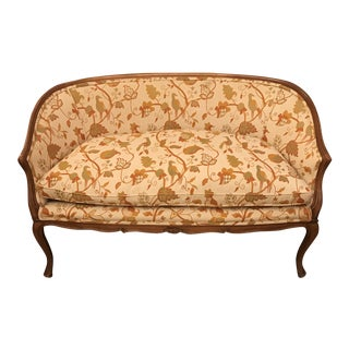 1930s Vintage W & J Sloane French Settee For Sale