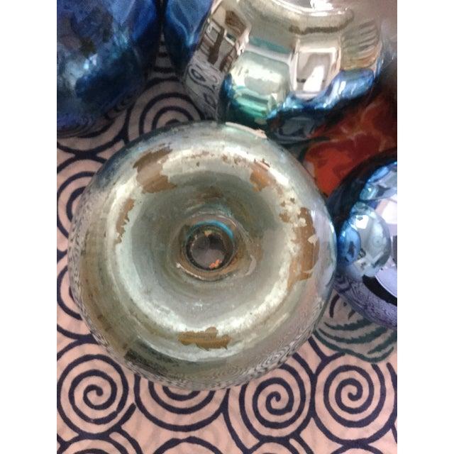 Vintage Czech Mercury Glass Vases - Set of 9 For Sale - Image 6 of 12
