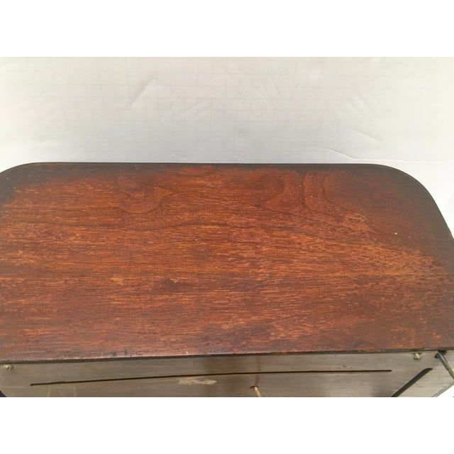 1940s 1940s Vintage Watterson Mid-Century Wood Radio/Short Wave For Sale - Image 5 of 10