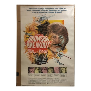 """Columbia Pictures """"Breakout"""" Vintage Movie Poster"""