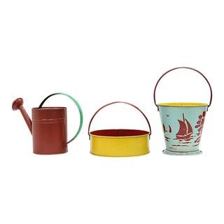 Mid-Century Children's Garden Set - 3 Pieces For Sale