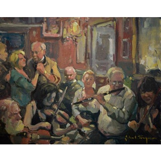 John C. Traynor, Session at Friels Painting, 2018 For Sale