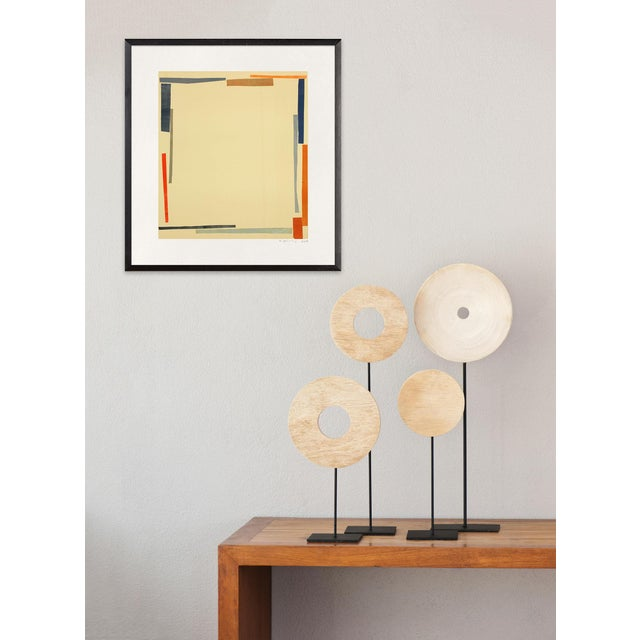 """Abstract Elizabeth Gourlay """"Tromba 3"""", Print For Sale - Image 3 of 4"""