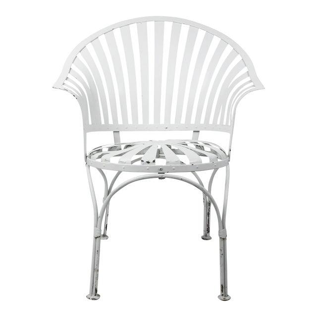 Francois Carre Vintage Fan Back Patio Armchair - Image 1 of 11