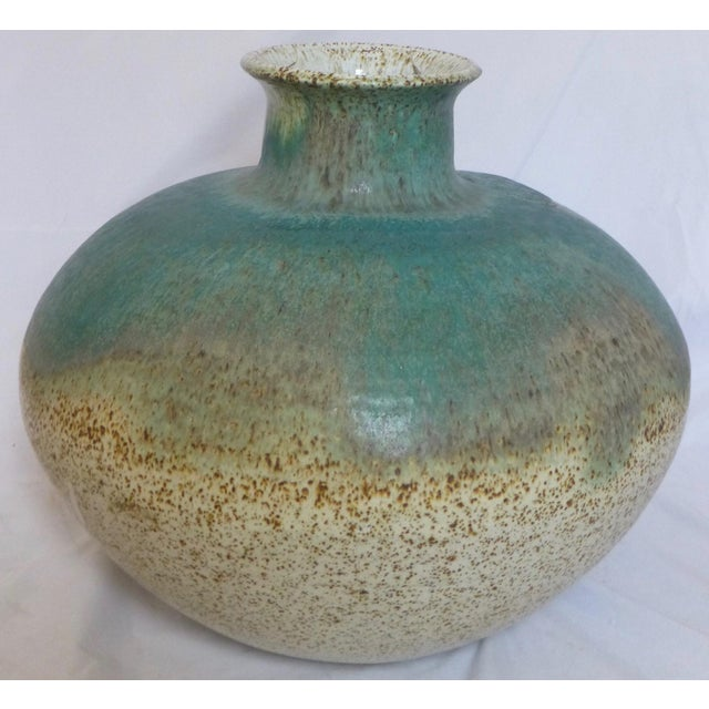Signed William C. Alexander Giant Studio Pottery Vase For Sale - Image 10 of 13