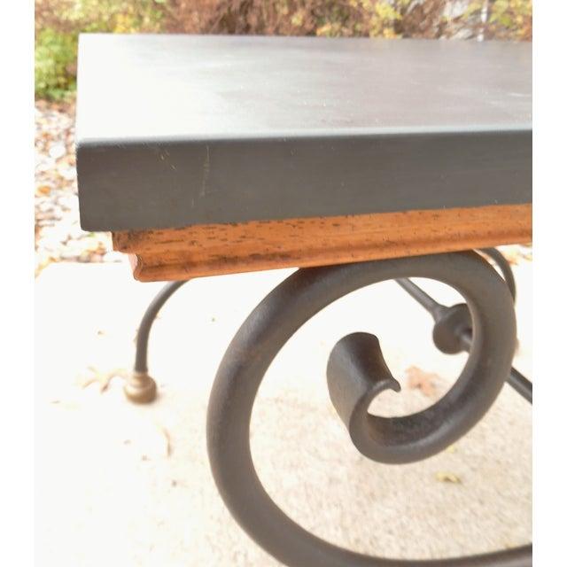 Vintage Morganton Furniture Barcelona Collection Side Tables - Pair - Image 4 of 10
