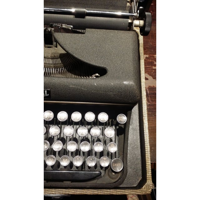 Industrial Vintage 1940s Royal Typewriter For Sale - Image 3 of 6