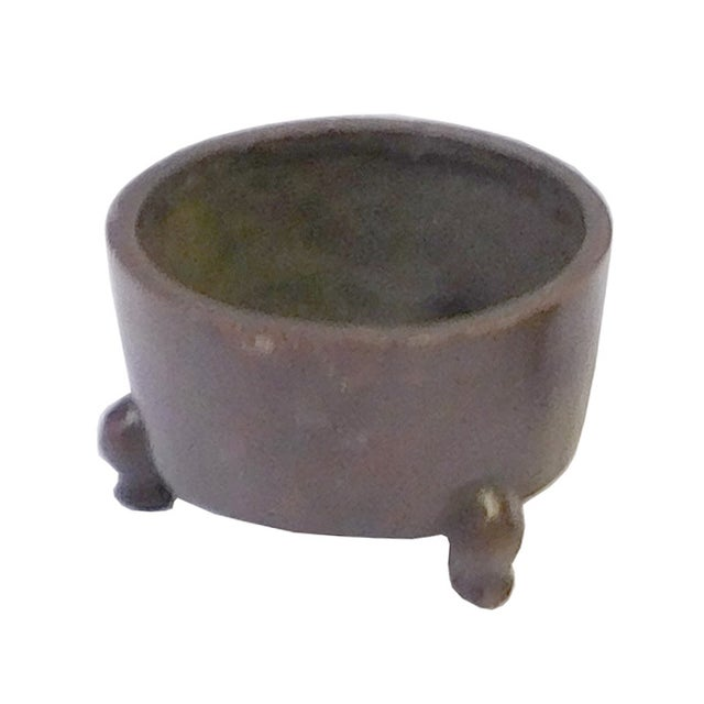 Chinese Bronze Metal Incense Burner - Image 4 of 4