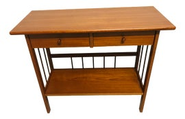 Image of Danish Modern Console Tables