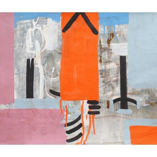 Robert George Gilberg, 'American Abstract in Coral and Lilac', San Francisco Bay Area, 1958