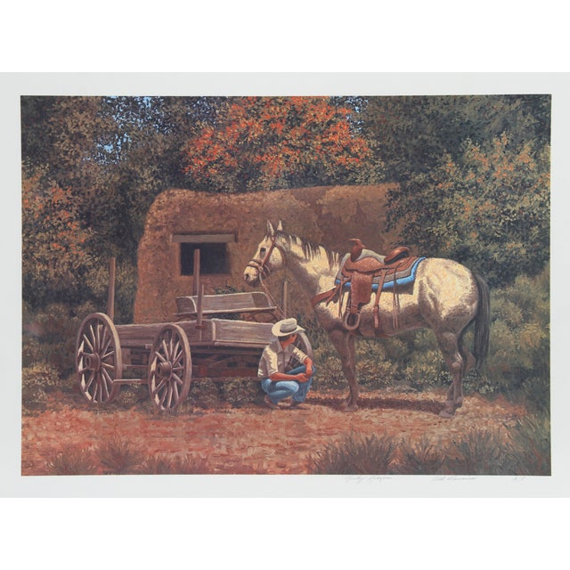 Rocky Rodgers Lithograph - Old Memories For Sale