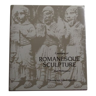Vintage Museum Catalogue of Romanesque Sculpture Book For Sale