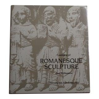 Vintage Romanesque Sculpture Museum Book For Sale
