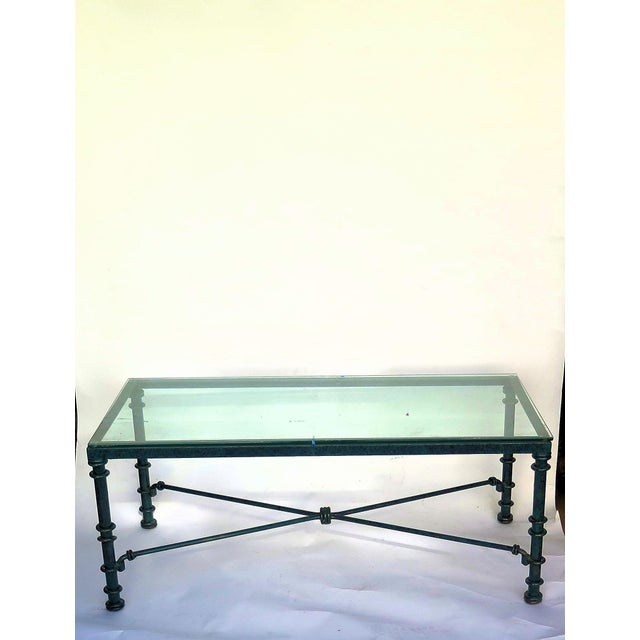 Diego Giacometti Style Iron Coffee Table For Sale In Los Angeles - Image 6 of 6