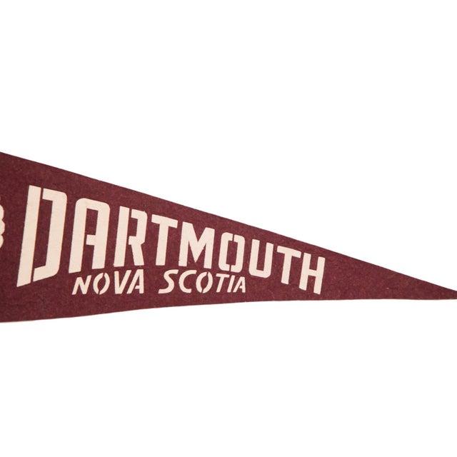Dartmouth Nova Scotia Canada Felt Flag - Image 2 of 3