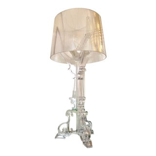 Ferruccio Laviani for Kartell Crystal Bourgie Table Lamp For Sale