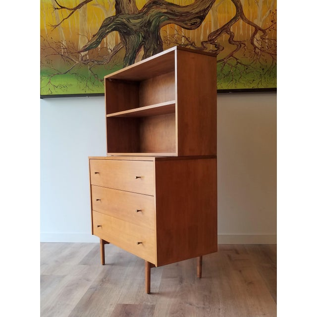 Mid-Century Modern Paul McCobb for Planner Group Display Bookcase With Drawers For Sale - Image 11 of 12