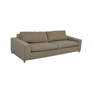 Room and Board Brand Beige Sofa For Sale
