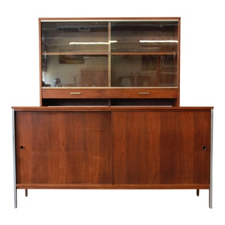 Paul McCobb for Calvin Mid-Century Modern Walnut Credenza For Sale
