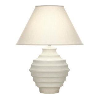 Curated Kravet Connerly Table Lamp - White For Sale