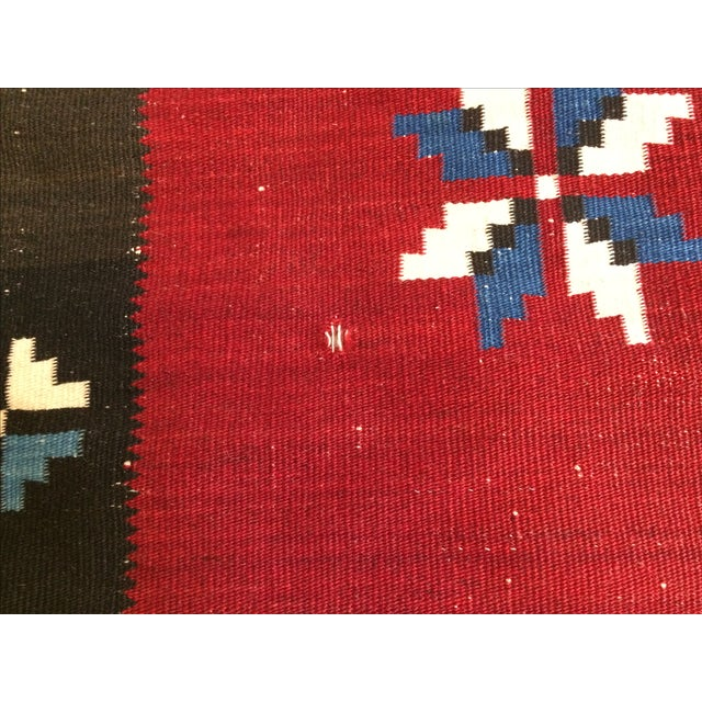 Vintage Southwest Saltilo Serape Rug - 4′10″ × 6′8 - Image 9 of 10