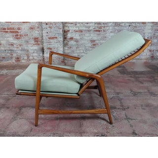 1960s Vintage Mid-Century Modern Danish Reclining Lounge Chair Preview
