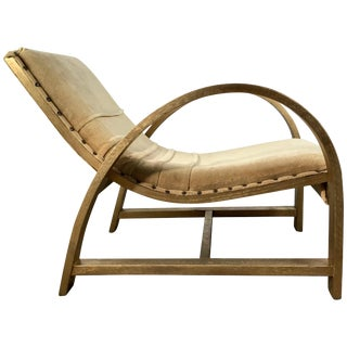 Art Deco Streamline Lounge Chair Designed by Gilbert Rohde for Heywood Wakefield For Sale