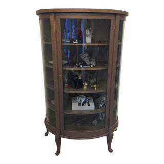 Antique Curio Cabinet