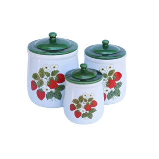 McCoy Ceramic Jars - Set of 3 For Sale