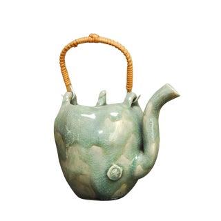 Bespoke Glazed Ceramic Teapot