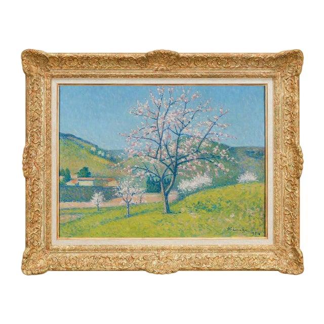 Arbres en Fleur à Alet-les-Bains (Flowering Trees in Alet-les-Bains) For Sale