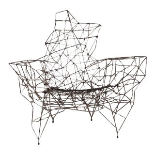 Demiurge Wire and Rope Chairs - a Pair For Sale