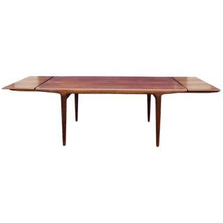 Neils Moller Extendable Dining Table in Teak, j.l. Møller, Denmark, 1960s For Sale