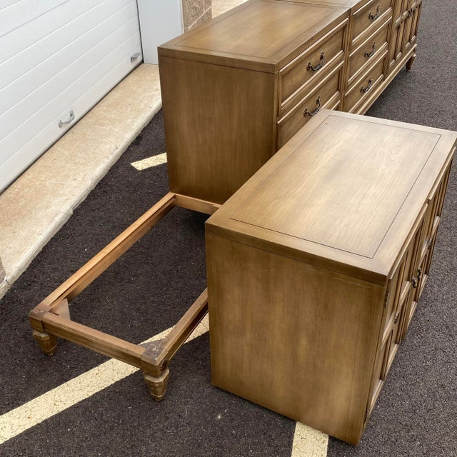 """Metal Modular 129"""" Credenza by Union-National Inc. For Sale - Image 7 of 13"""