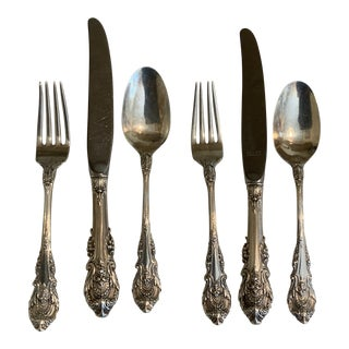 1940s Wallace Sterling Sir Christopher Child Set - Set of 6 For Sale