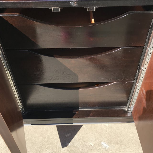 Chrome American of Martinsville Mid Century Credenza For Sale - Image 7 of 13