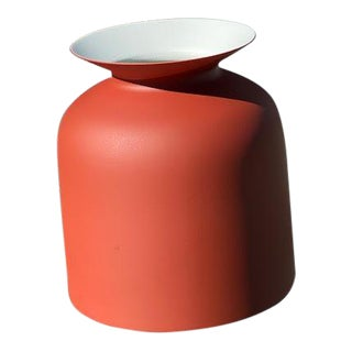 Modern Gubi Small Rust Red Ronde Pendant Light For Sale