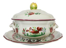 Image of French Serving Dishes and Pieces