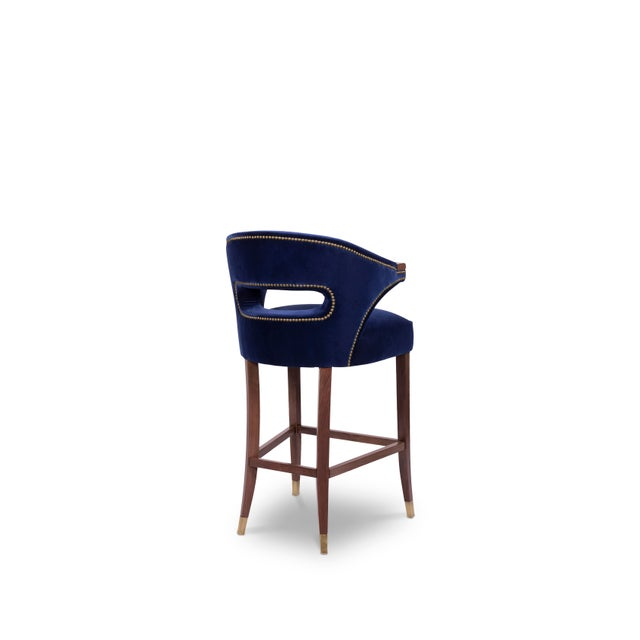 Modern Nanook Bar Chair From Covet Paris For Sale - Image 3 of 7