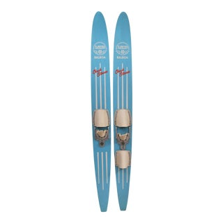 Vintage Lund Chuck Stearns Waterskis For Sale