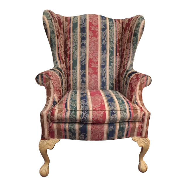 Sherrill Traditional Wingback Chair - Image 1 of 3