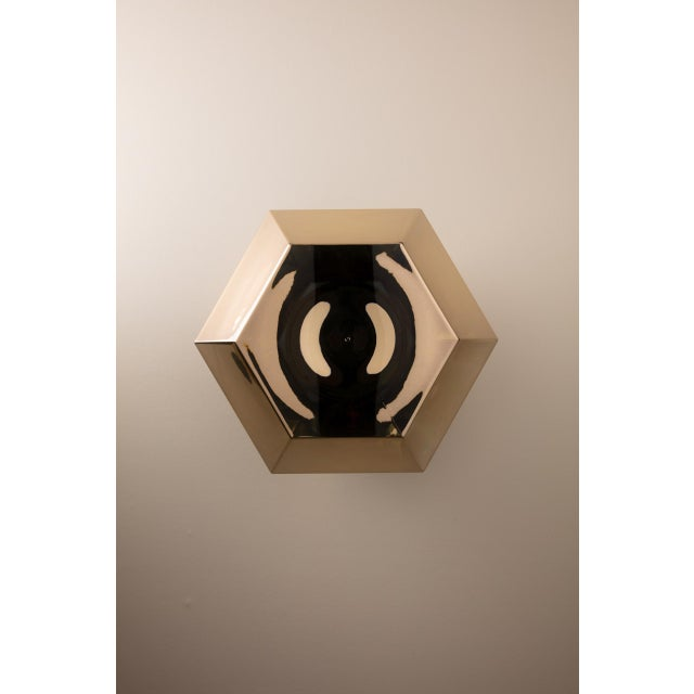 Tom Dixon Cut Surface Gold For Sale In Los Angeles - Image 6 of 11