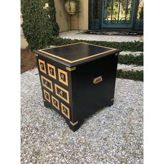Mid Century Modern Black End Table Preview
